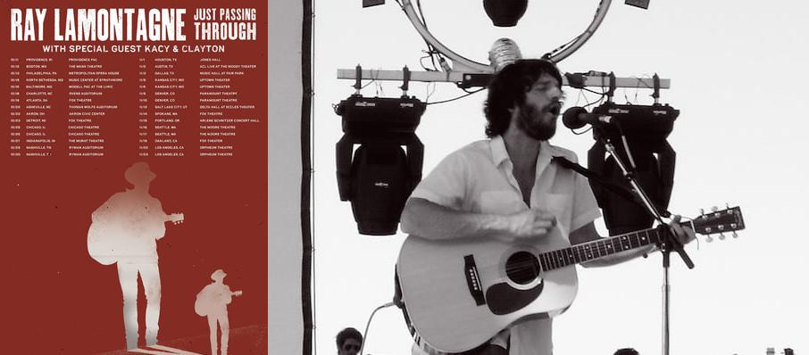 Ray LaMontagne at Martin Wolsdon Theatre at the Fox