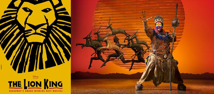 The Lion King at Inb Performing Arts Center