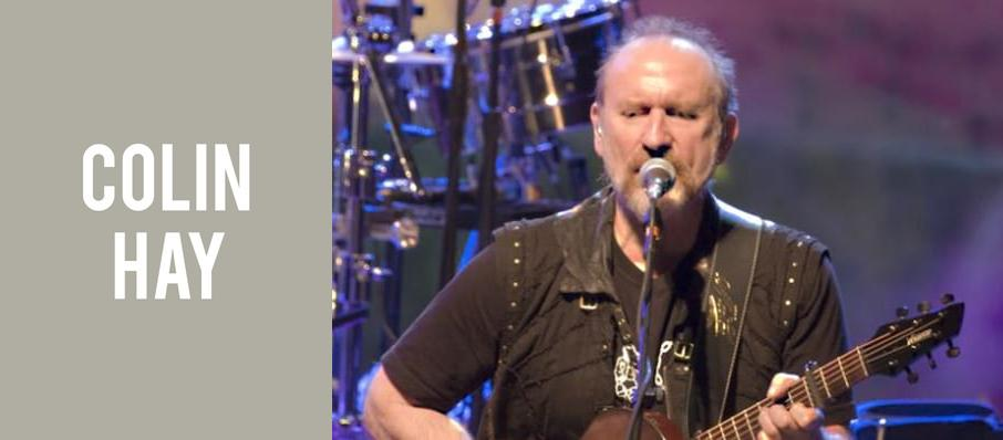 Colin Hay at Bing Crosby Theater