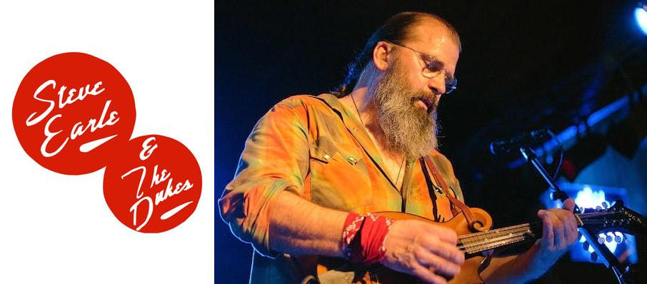 Steve Earle at Bing Crosby Theater