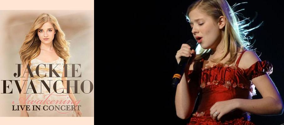 Jackie Evancho at Martin Wolsdon Theatre at the Fox