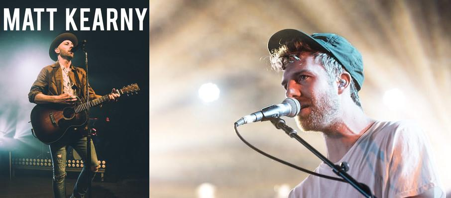 Mat Kearney at Bing Crosby Theater