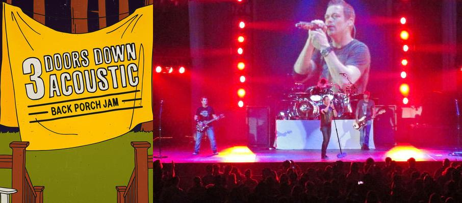 3 Doors Down at First Interstate Center for the Arts
