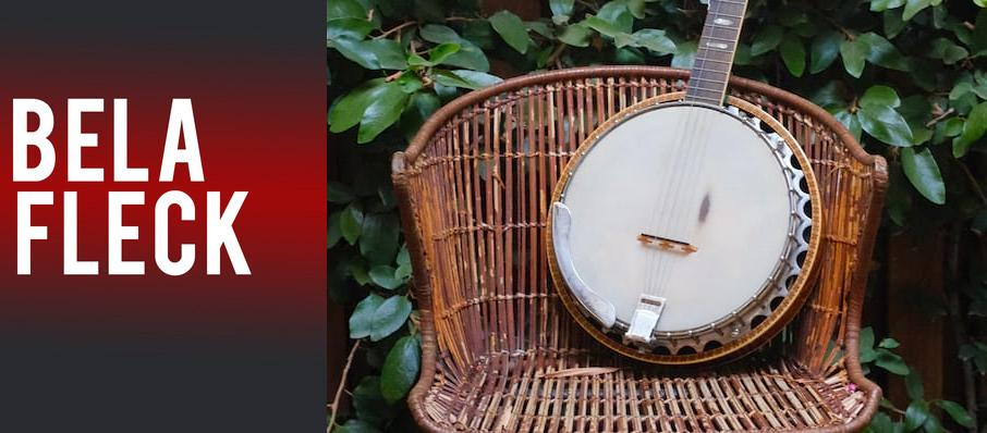 Bela Fleck at First Interstate Center for the Arts