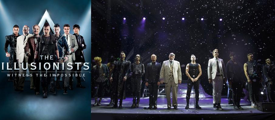 The Illusionists at Inb Performing Arts Center