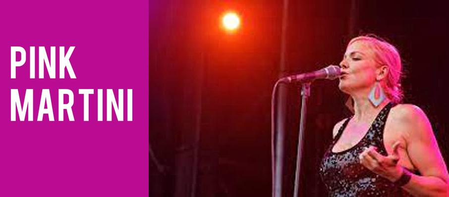 Pink Martini at Martin Wolsdon Theatre at the Fox
