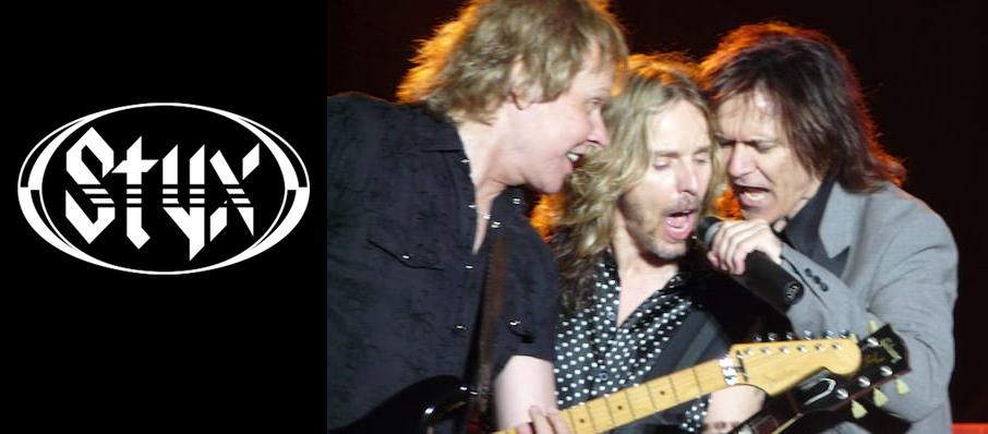 Styx at Pend Oreille Pavilion - Northern Quest Resort & Casino