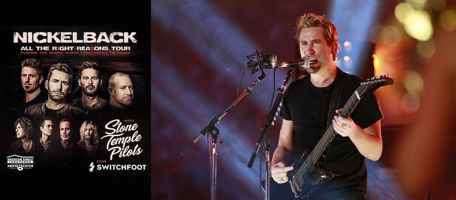 Nickelback at Spokane Arena