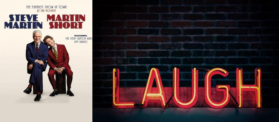 Steve Martin & Martin Short at Pend Oreille Pavilion - Northern Quest Resort & Casino
