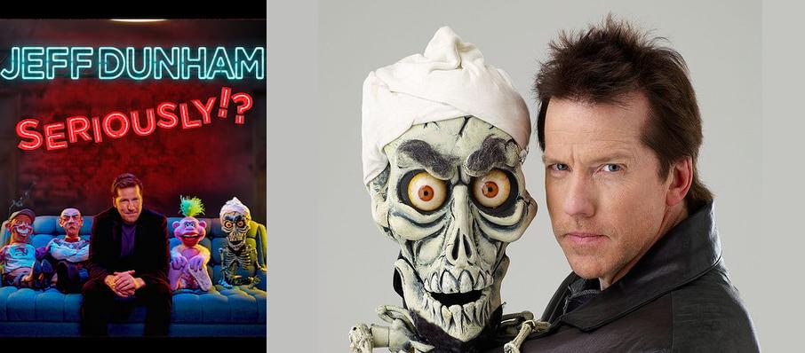 Jeff Dunham at Spokane Arena