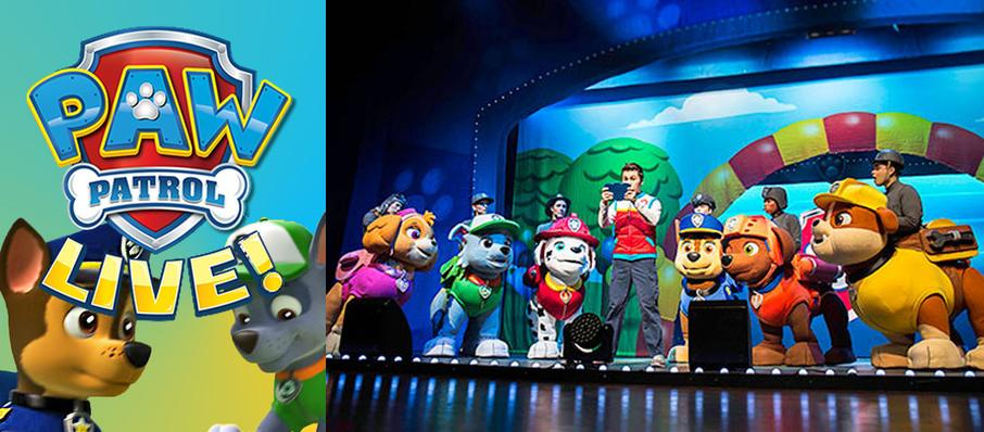 Paw Patrol at First Interstate Center for the Arts
