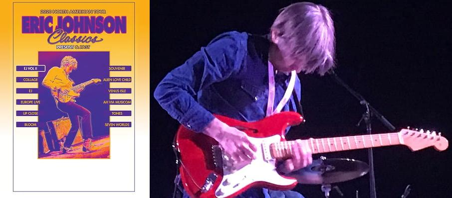 Eric Johnson at Bing Crosby Theater