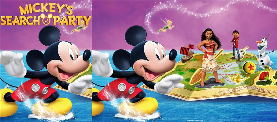 Disney on Ice: Mickey's Search Party at Spokane Arena