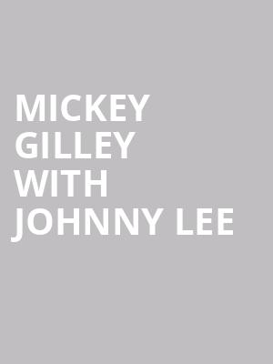 Mickey Gilley with Johnny Lee at Pend Oreille Pavilion - Northern Quest Resort & Casino