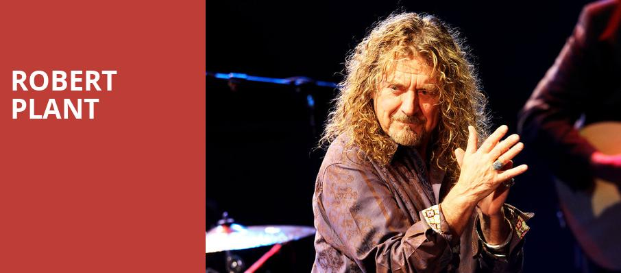 Robert Plant, First Interstate Center for the Arts, Spokane