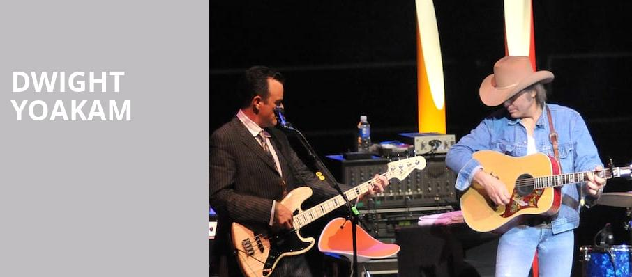Dwight Yoakam, First Interstate Center for the Arts, Spokane