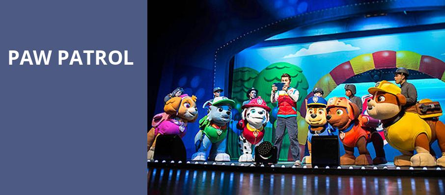 Paw Patrol, First Interstate Center for the Arts, Spokane