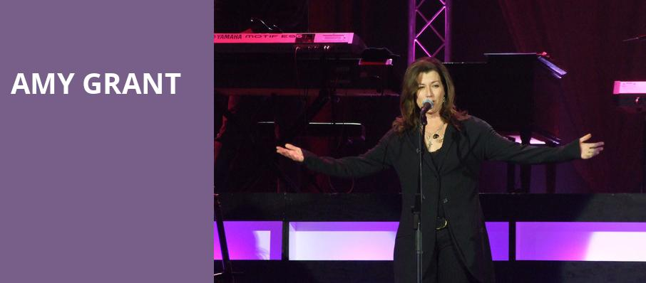 Amy Grant, First Interstate Center for the Arts, Spokane