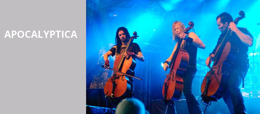 Apocalyptica, Martin Wolsdon Theatre at the Fox, Spokane