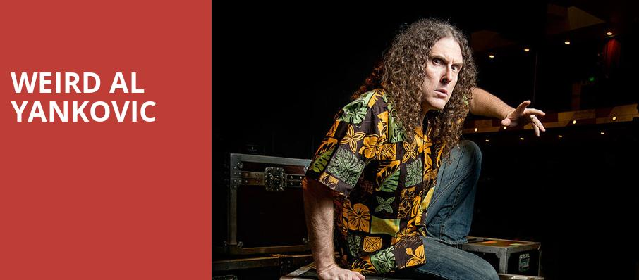 Weird Al Yankovic, Martin Wolsdon Theatre at the Fox, Spokane