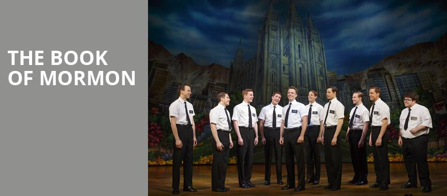 The Book of Mormon, Inb Performing Arts Center, Spokane