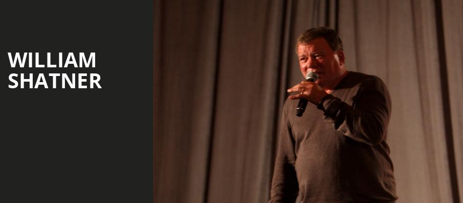 William Shatner, First Interstate Center for the Arts, Spokane