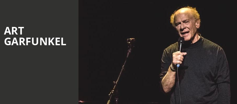 Art Garfunkel, Martin Wolsdon Theatre at the Fox, Spokane